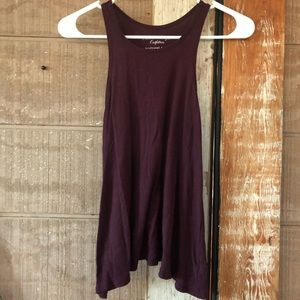 American Eagle Long Purple Tank Top! 💜